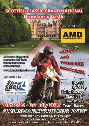 Scottish Classic Grand National, Classic and Twinshock Motocross racing