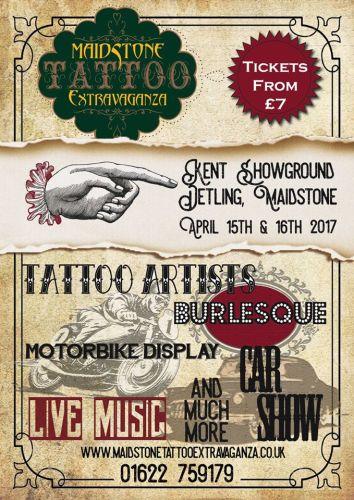 Maidstone Tattoo Extravaganza 2017