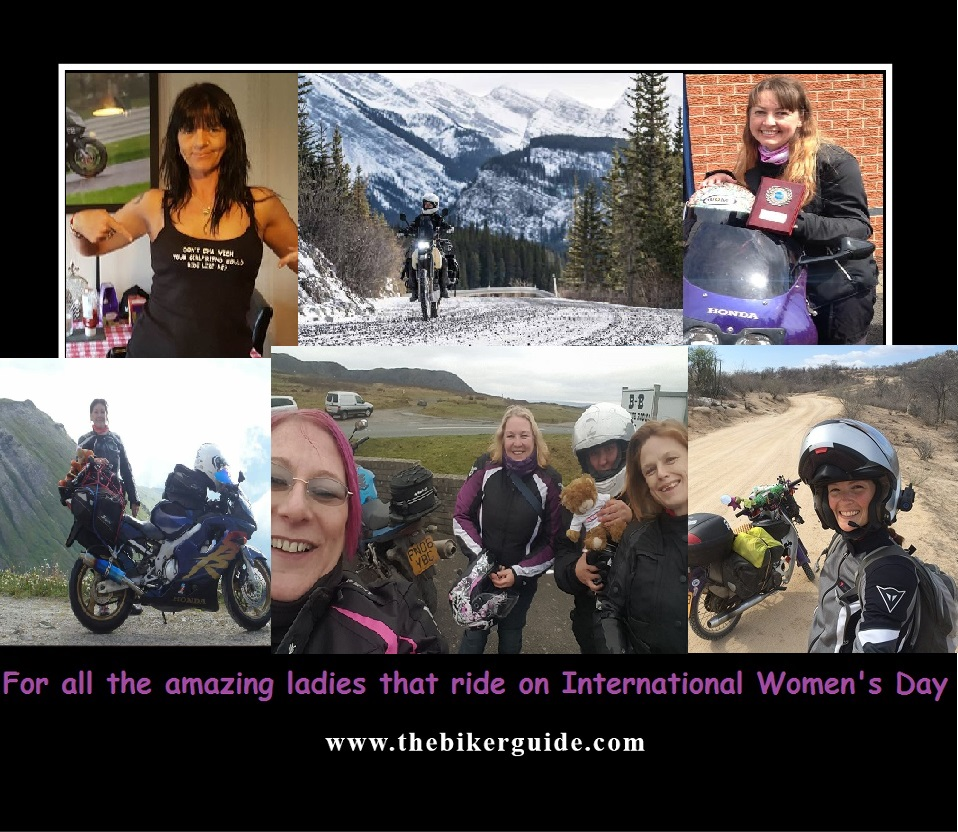 To all the amazing ladies that ride on International Womens Day 2017