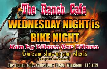 The Ranch Cafe, Bike Night, Wingham, Kent