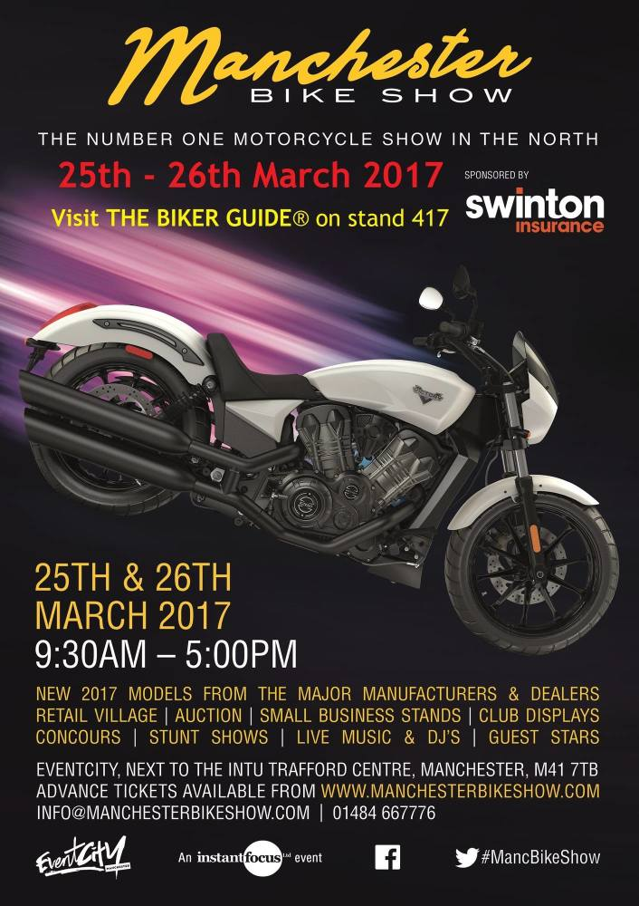 Manchester Bike Show 2017 - EventCity