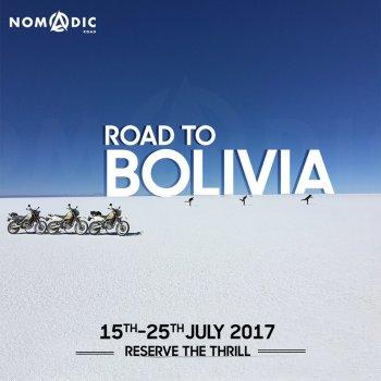 Road to Bolivia - July 2017, Dakar, Yungas, salt flats of Salar De Uyuni