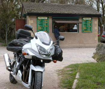 Bull Beck Snack Bar, Biker Friendly, Lancaster Lancashire