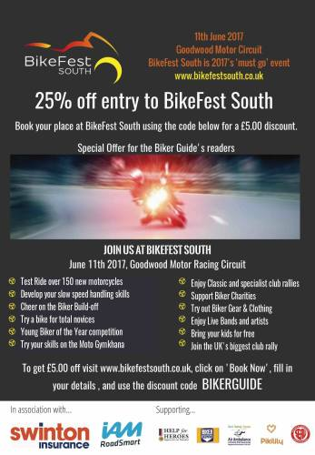 BIkeFest South, Goodwood Motor Racing Circuit