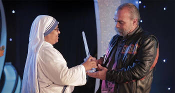 Sam Childers - Mother Teresa Award for International Social Justice
