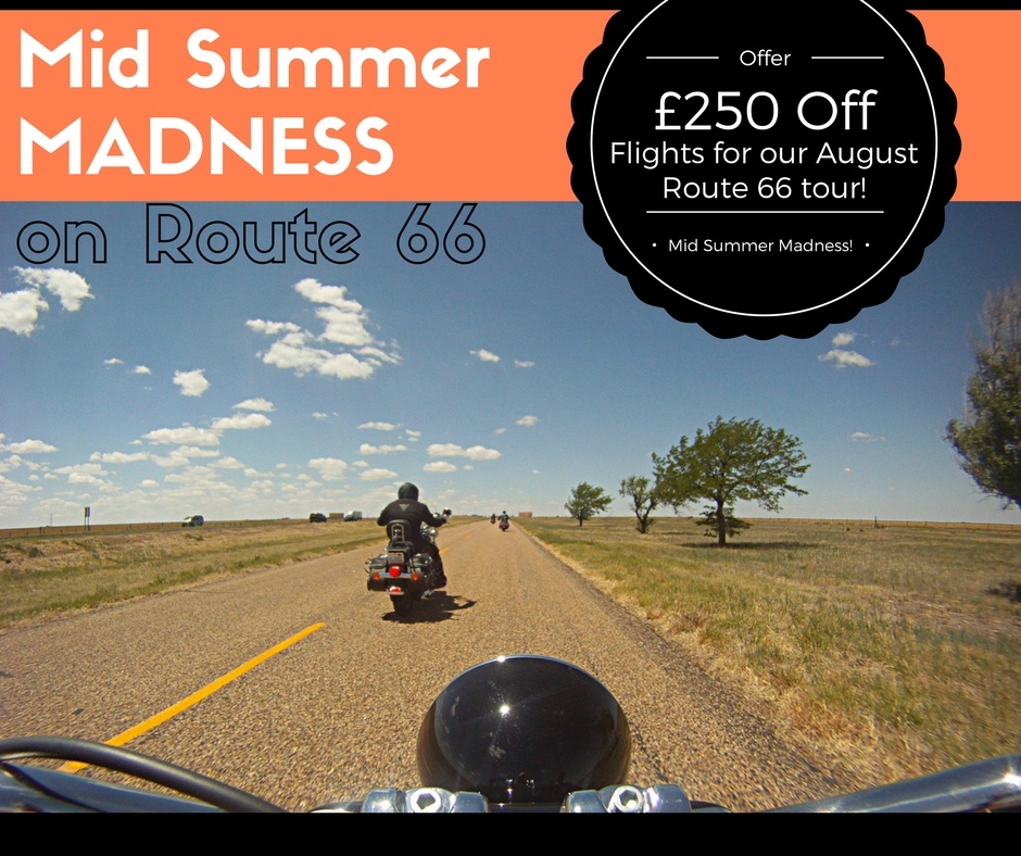 Mid Summer Madness - £250 Off Flights For Route 66