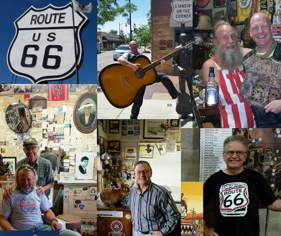 Route 66 is as much about the Amazing People - Orange and Black tours