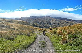 Ecuador Freedom, Bike Rental, Motorcycle touring