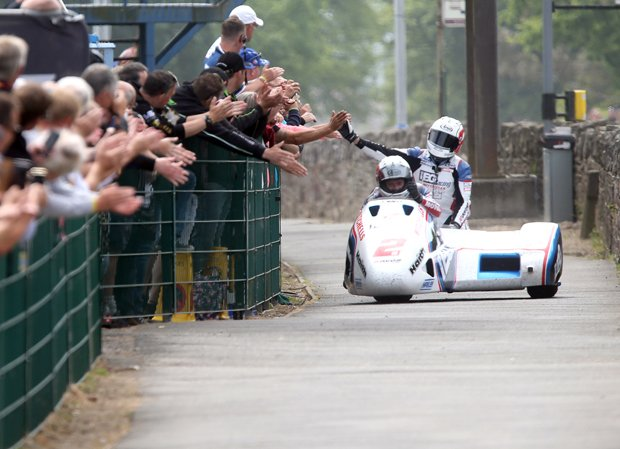 Five former winners confirmed for Sure Sidecar TT Races