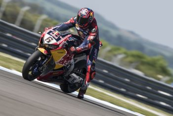 Bradl looking for improvements after day one at Donington Park