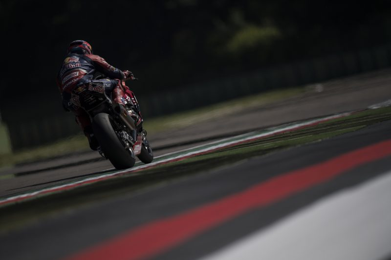 Red Bull Honda World Superbike Team prepares for an emotional UK round