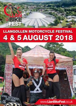 Llangollen Motorcycle Festival - LlanBikeFest, North Wales