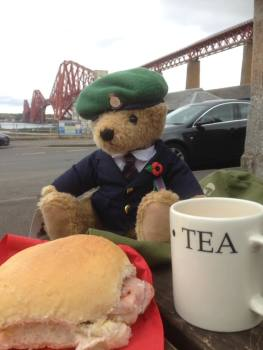 Relaying Ted from Scotland down the length of Britain
