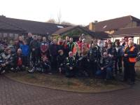 Christmas toy run to Childrens Hospice Southwest BARNSTAPLE