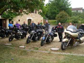 Bikers Krib, Biker Friendly, Fumel, Lot-et-Garonne, Aquitaine, France