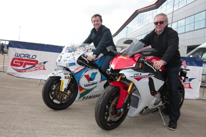 World Champions Gardner and Spencer to Race at Silverstone Classic