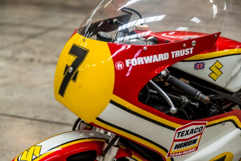 Barry Sheene's restored XR14 to be ridden by son Freddie at Olivers Mount