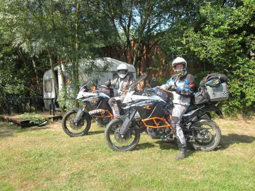 Bike Camping France, Biker Friendly, Pyrenees, South West France