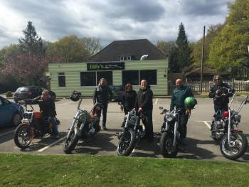 Billys On The Road, Bikers welcome, Cafe, Billingshurst, West Sussex
