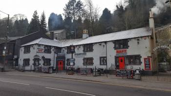 The Fishpond Matlock, Biker Friendly Pub, Matlock Bath, Derbyshir