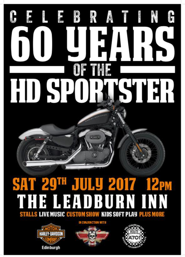 The Leadburn Inn - Celebrating 60 years of the H-D Sportster
