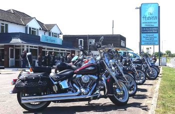 The Haven, Biker Friendly Cafe, Salisbury, Wiltshire