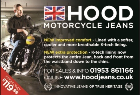 Hood Jeans - British made Motorcycle Kevlar Jeans