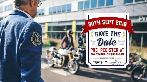 Distinguished Gentlemens Ride 2017