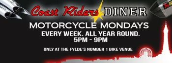 Coast Riders Diner - Monday Bike Night, Blackpool