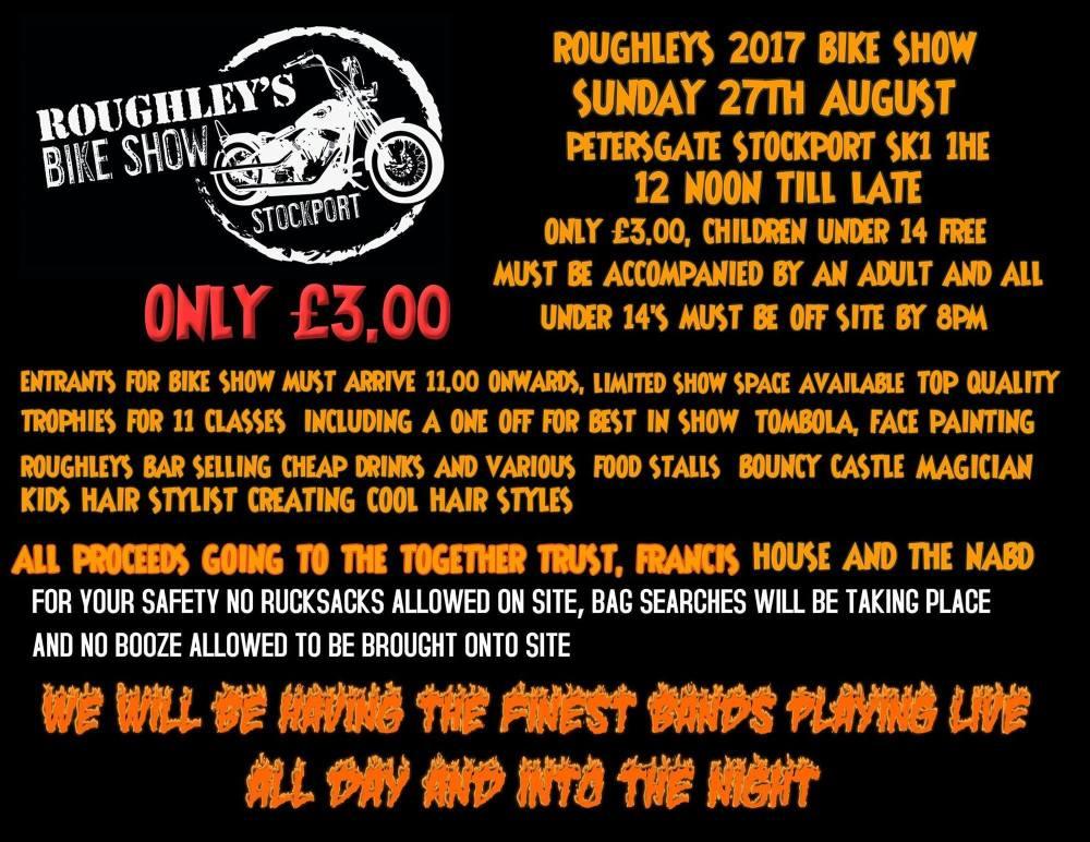 Roughleys Bike Show 2017
