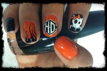 Harley-Davidson Nail-Design
