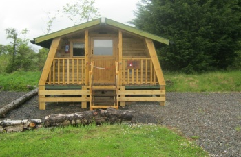Lagganbeg Holiday Park, Robins Nest Cabin, Loch Lomond, Scotland