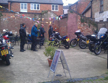 More Coffee Co, Bikers welcome, Melton Mowbray, Leicestershire