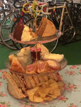Vintage Cycles Shop & Vintage Tea Room, Biker Afternoon Tea