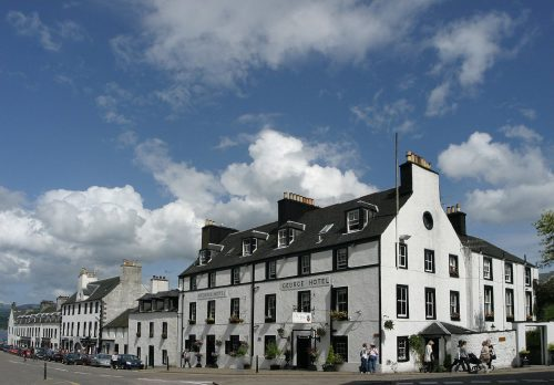 The George Hotel, Biker Friendly, Inveraray, Argyll