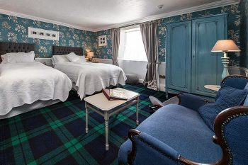 The George Hotel, Bikers welcome, Inveraray, Argyl