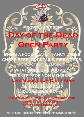 OGRI MCC Day of the Dead party