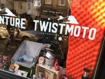 TwistMoto, Motorbike camping equipment, touring, rallying, travelling