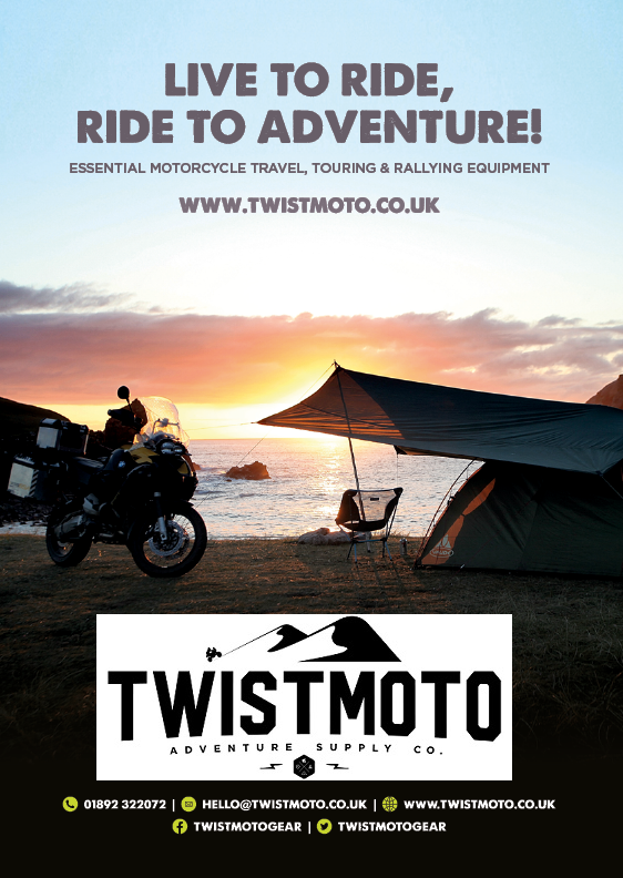 TwistMoto, Motorcycle camping equipment, touring, travelling, rallying, lig