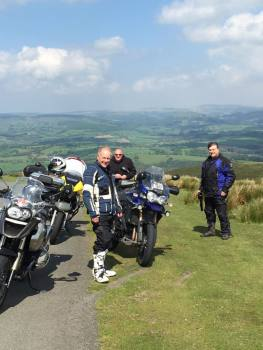 Cornhill, Motorcycle tours, Rhayader, Wales, Biker Friendly