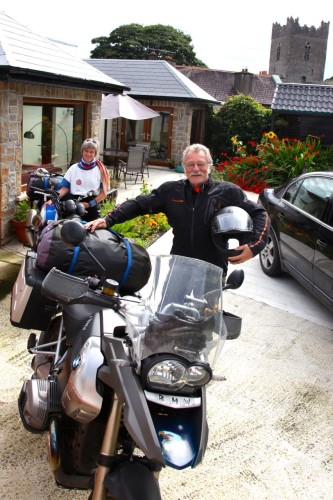 Kincora House, Biker Friendly, Killaloe, County Clare, Ireland, parking