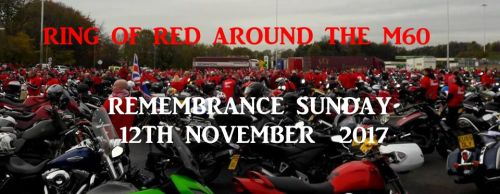 Ring of Red around the M60 - Remembrance Sunday
