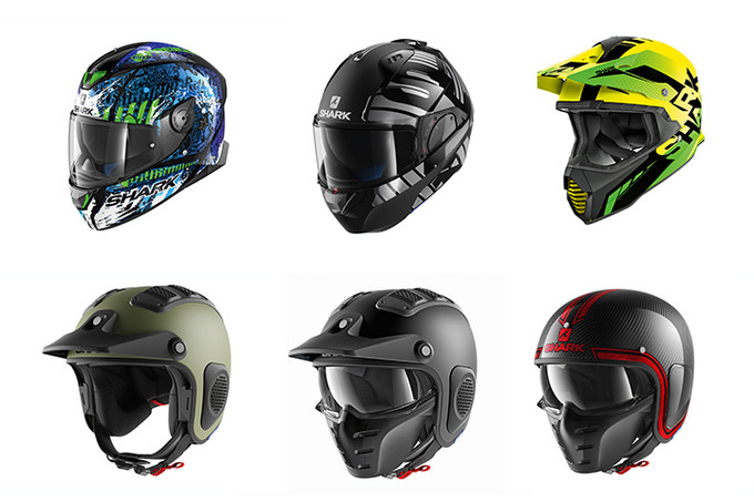SHARK Helmets to present its 2018 collection at Motorcycle Live
