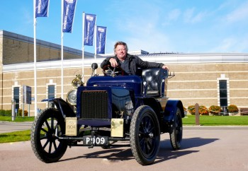 Charley Boorman to drive a 1904 car from the British Motor Museum