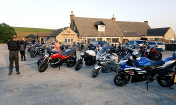The Winking Man, Bikers welcome, Staffordshire, pub