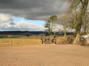 Bessiestown Farm Country Guesthouse, Biker Friendly, Carlisle, parking