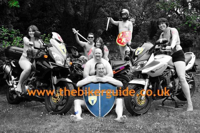 Knights of the Shire: Steph Burton, Paul Burton, Tracy Hunter, Mark Allen,