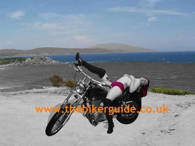 Biker babe: Cher Victoria Payne