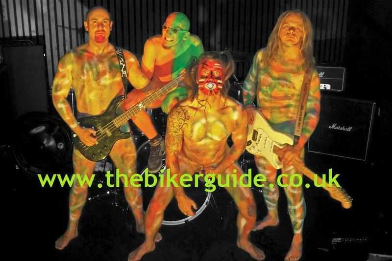 Nuclear Minogue, Rally Band: Christopher Machin, Chris Green, Mic Smith and