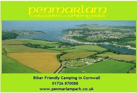 Penmarlam - Biker Friendly camping in Cornwall